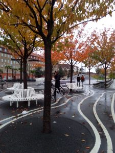 "Superkilen Park, Copenhagen, 55°41'59.9""N 12°32'33.1""E"