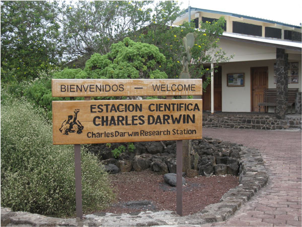 Charles Darwin Research Station, Galapagos. Foto: Beate Hillmann, SLU.